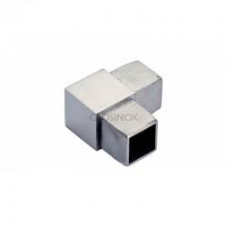 RACCORD A 90DEG, 25 X 25 X 2,0 MM,AISI316 BROSSE