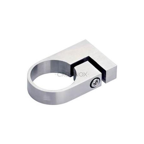 collier de fixation pour tube d48 3mm ajustable aisi316. Black Bedroom Furniture Sets. Home Design Ideas