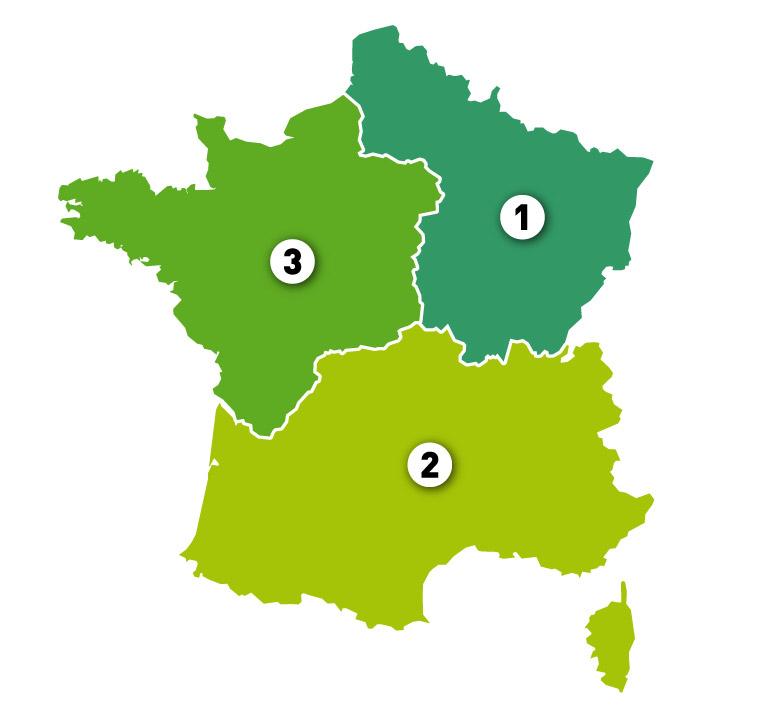Croso carte france - Urbain et Guidage