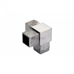 RACCORD A 90DEG, 40 X 40 X 2,0 MM,AISI316 BROSSE