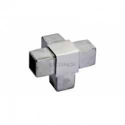 RACCORD 4 DEPARTS, 25 X 25 X 2,0 MM,AISI316 BROSSE