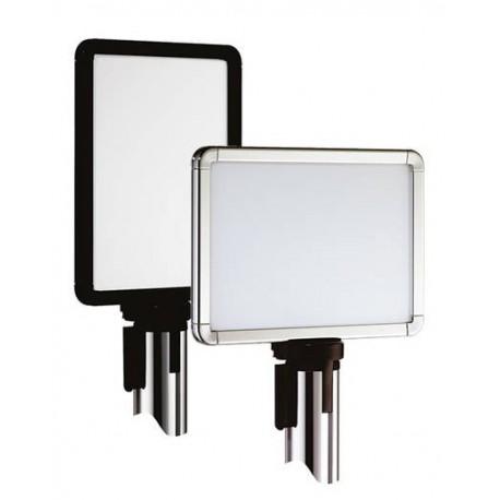 Beltrac signalétique : panneaux d'information aluminium.