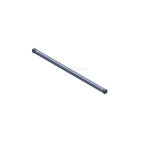 KIT APPUI DE FENETRE L1500 MM, 40x40 MM, AISI304 BROSSE